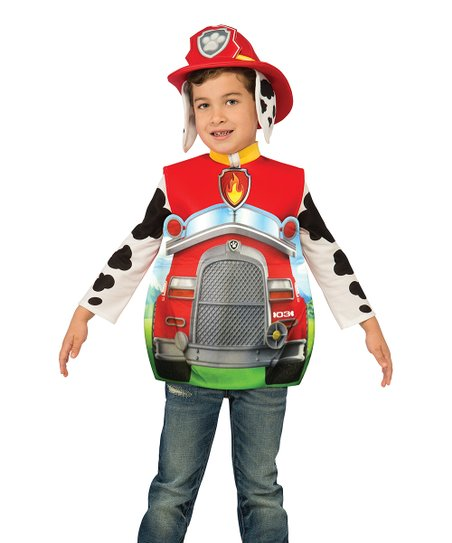 love this product PAW Patrol Red Marshall Candy Cat Costume - Boys 236918b2a2