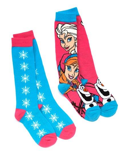 Pnk Ble, Frozen-Socks