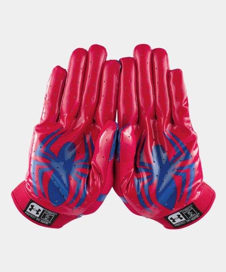 Under Armour Red Spider Man Alter Ego F4 Football Gloves Zulily