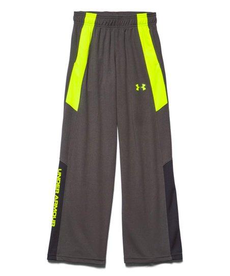 30d1d924234b3 Under Armour® Charcoal Hero Warm-Up Pants - Boys | Zulily