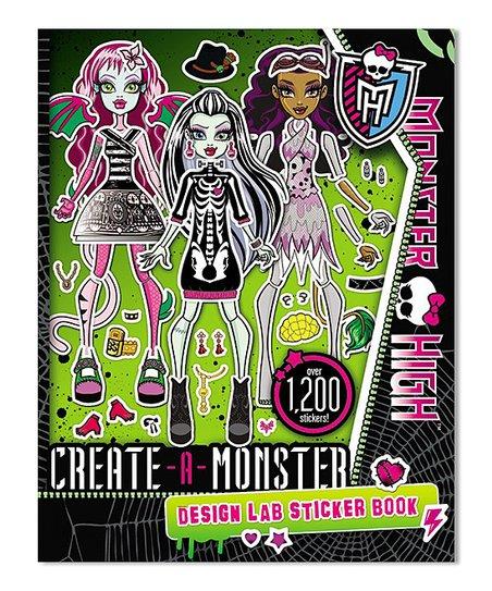 Hachette Book Group Create A Monster Design Lab Sticker Book