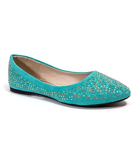 Turquoise Cynthia Flat