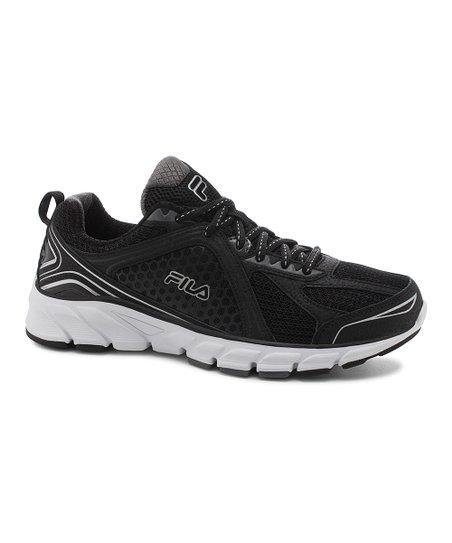 adcfd21041cd6 FILA Black & Silver Threshold 3 Running Shoe - Women