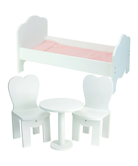 Sophia S Four Piece Dollhouse Furniture Set For 18 Doll