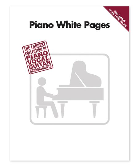 Hal Leonard Piano White Pages Songbook
