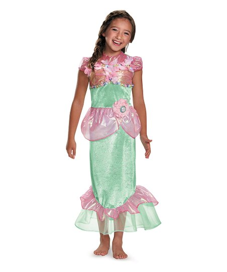 1a2ceeeaed love this product Pink   Green Mermaid Dress-Up Outfit - Kids