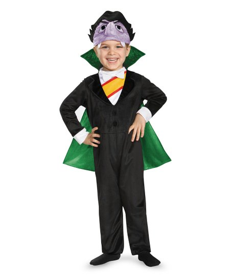 Disguise Sesame Street Count Von Count Dress Up Set Toddler