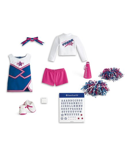 beautiful american girl cheer outfit or 69 american girl cheerleader outfit