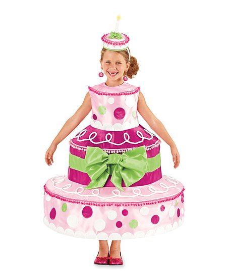 Pleasant Birthday Cake Dress Girls Zulily Funny Birthday Cards Online Barepcheapnameinfo