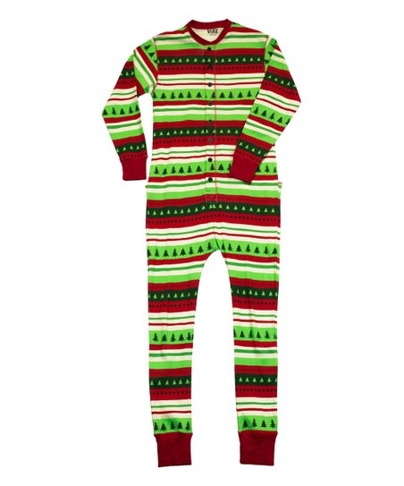 45f497aff7 love this product Green   Red  special Delivery  Flapjack Pajamas - Adult