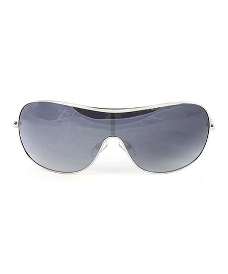 f81ab71786a0c love this product White   Gray Gradient Shield Sunglasses - Women
