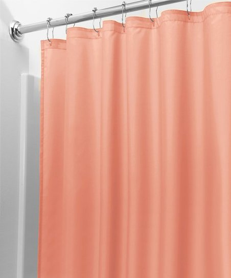 Coral Shower Curtain Liner