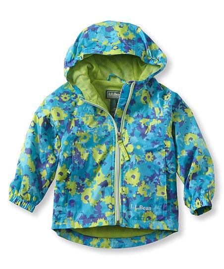4c245873c love this product Teal Lagoon Floral Discovery Rain Jacket - Kids
