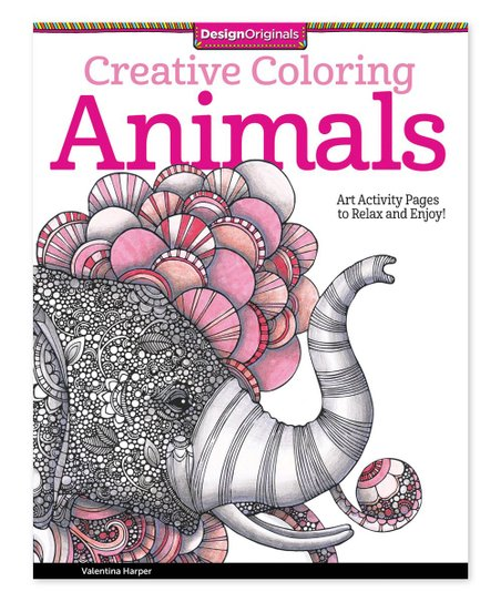 Fox Chapel Publishing Creative Coloring Animals Coloring
