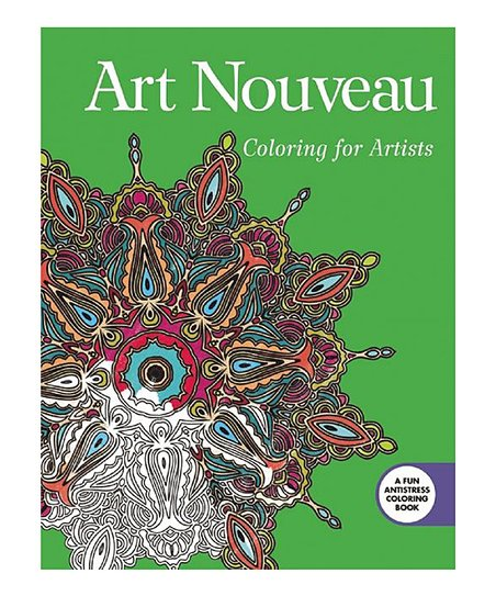 - Skyhorse Publishing Art Nouveau: Coloring For Artists Coloring Book Best  Price And Reviews Zulily