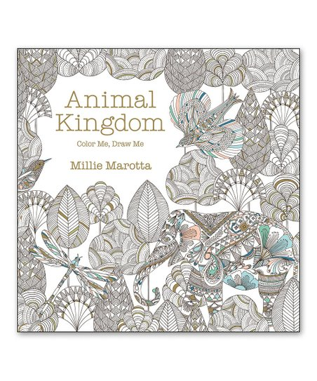 Sterling Animal Kingdom Coloring Book Zulily