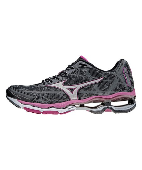 low priced 586f7 6bb24 Black   Silver Wave Creation 16 Running Shoe - Women