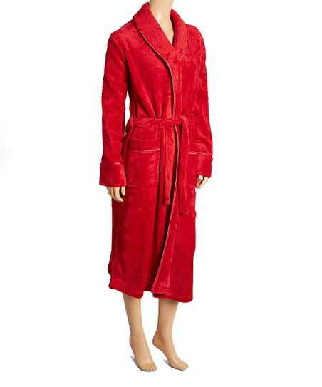 love this product Red Marshmallow Fleece Robe 384d37e43