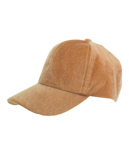 Magid Camel Fuzzy Baseball Cap  182b048146b