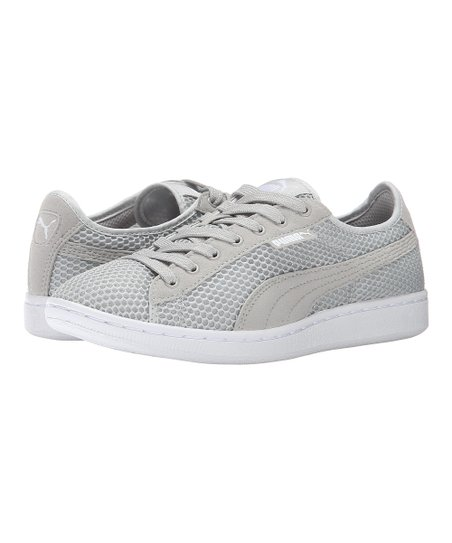 24f4a1b7d96 PUMA Gray Violet Vikky Mesh Sneaker