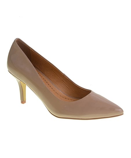 3c7ac2d372 Chinese Laundry Nude Patent Olivia Pump | Zulily