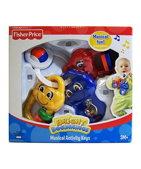 Fisher-Price Bright Beginnings Musical Activity Keys Kids Toy