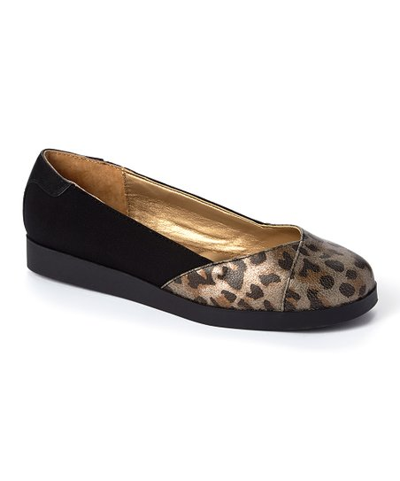 03b0b38be788 love this product Metallic Animal Print Bridgett Nubuck Flat