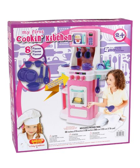 Eight Piece My First Cookin Kitchen Set