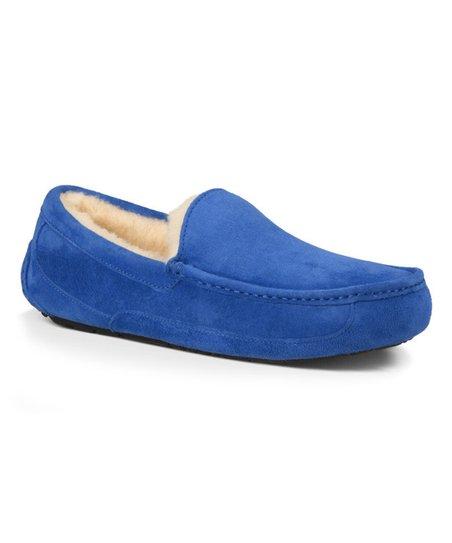 9e03302e5 love this product Marine Blue Ascot Suede Slipper - Men