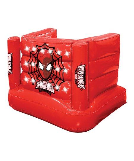 bfc488e4e EpicXtreme Spider-Man Inflatable LED Light-Up Snow Fort