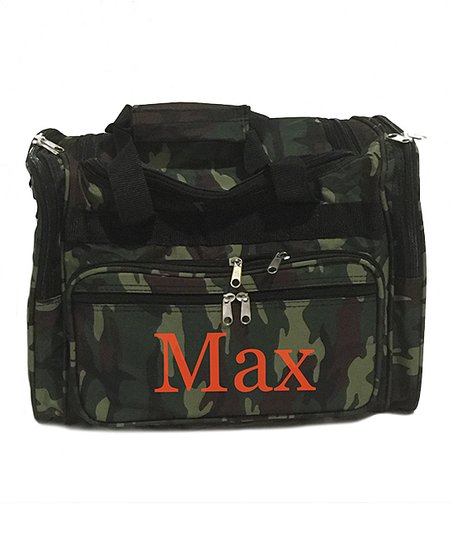 Three Ps In A Pod Camouflage Personalized Duffle Bag  83a01e3c8f234