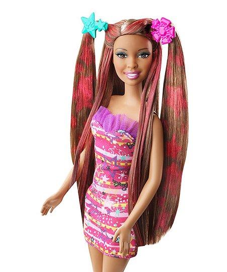 Color And Design Salon Barbie.Barbie Barbie Hairtastic Color Design Salon Doll