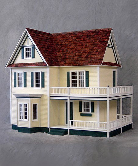 Real Good Toys 1 Scale Victorias Farmhouse Unfinished Dollhouse Kit
