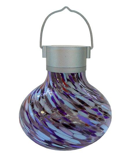 Garden Purple Solar Tea Lantern, Allsop Home And Garden Solar Tea Lantern