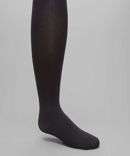 0a302a8c6a8 MeMoi Black Winter Opaque Tights - Infant   Kids