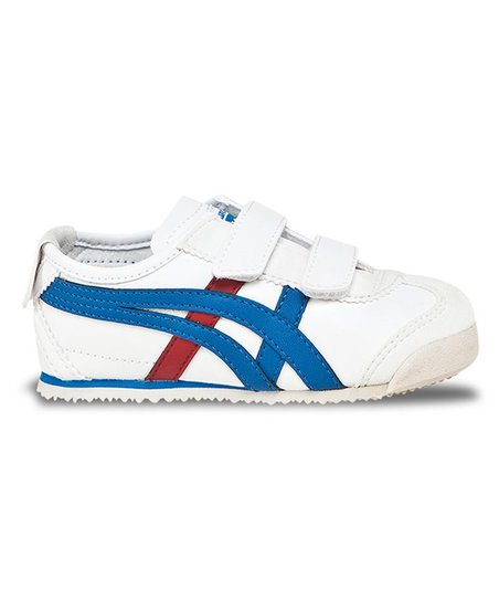 buy online 99167 869ef Onitsuka Tiger White & Blue Mexico 66 Baja TS Sneaker - Kids