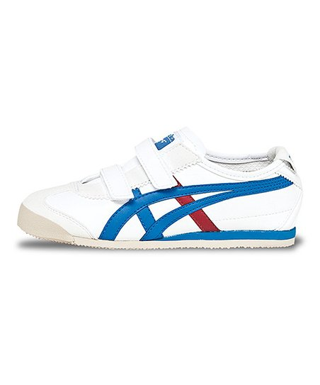 newest collection 4318a 8ff4f Onitsuka Tiger White & Royal Blue Mexico 66 Baja TS Sneaker - Kids