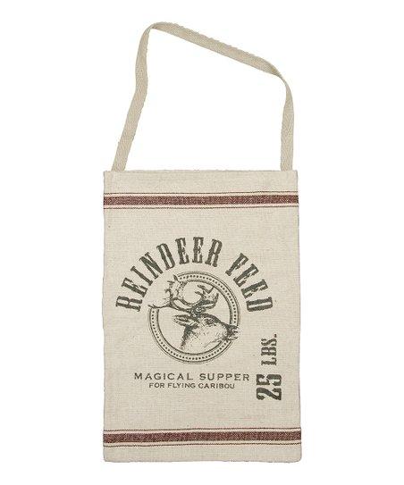 Primitives by Kathy 'Reindeer Feed' Hanging Tote Bag