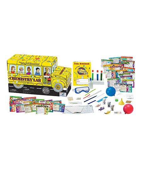 The Magic School Bus Magic School Bus Chemistry Lab Kit Zulily