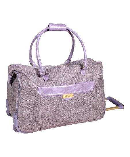 Mauve Jardin Wheeled City Bag
