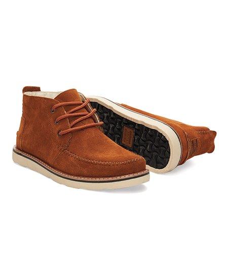 b6fbbe35511 TOMS Chestnut Suede Classics Chukka Boot - Men