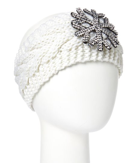 RQ Cream Snowflake Headband