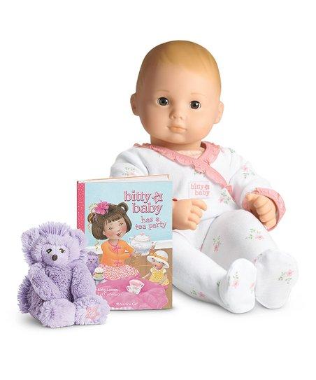 New American Girl Bitty/'s Fuzzy Hedgehog and baby Hedgehog SET