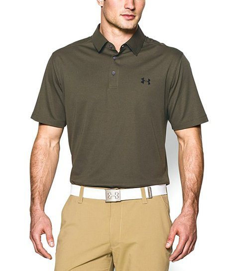 Under Armour Marine OD Green UA Tips Polo