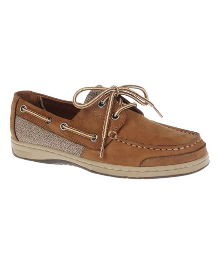 b0c3905bf6d82 Natural Soul by Naturalizer Brown On Deck Leather Boat Shoe