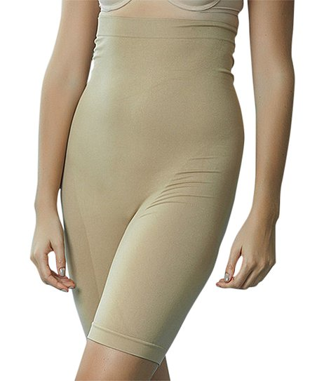 2c2f10416885f love this product Nude Firm Compression Seamless High-Waist Shaper Shorts -  Plus