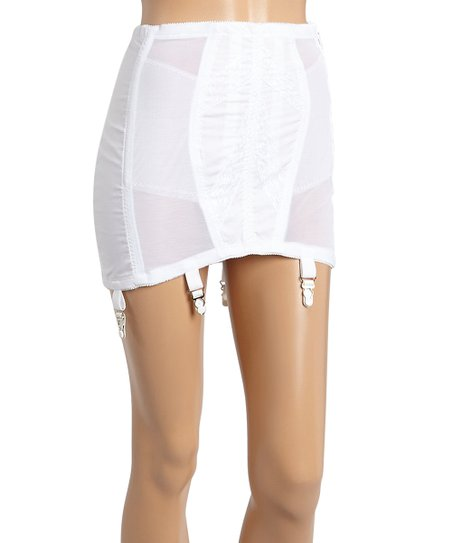 ff98afcbcca35 love this product White 14   Shaper Open-Bottom Girdle - Plus Too