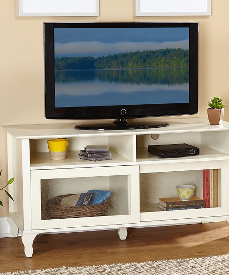 Antique White Layla Tv Stand Zulily