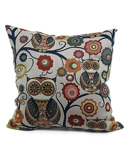 Brentwood Originals Tropical Wise Owl Throw Pillow  1823873197