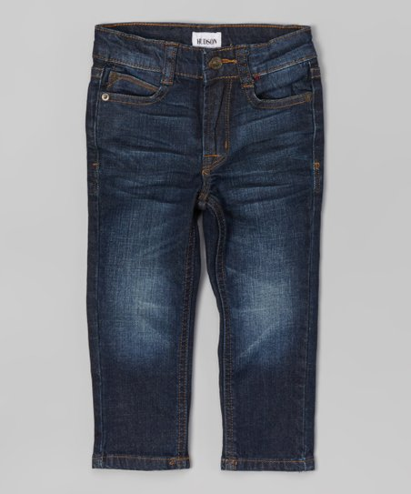 5766cb62464 Hudson Kids Biker Blue Jagger Jeans - Toddler & Boys | Zulily